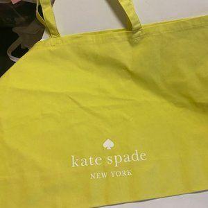 🔴 2 for $25/kate spade lemon yellow shopping tote